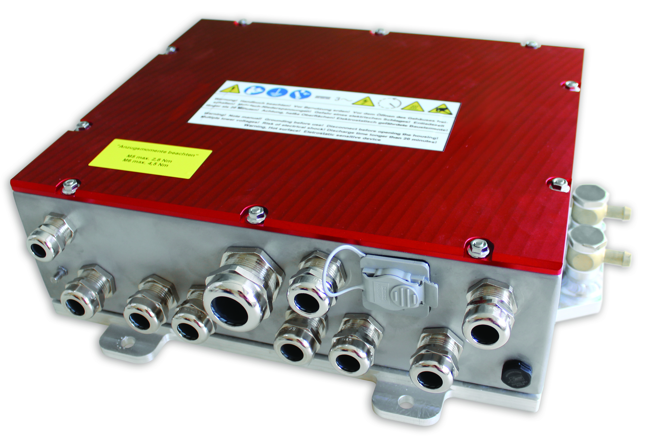compact inverter for mobile applications
